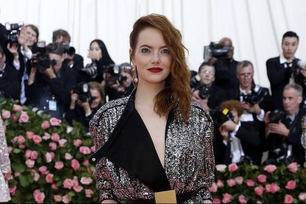 Emma Stone au MET gala en mai 2019