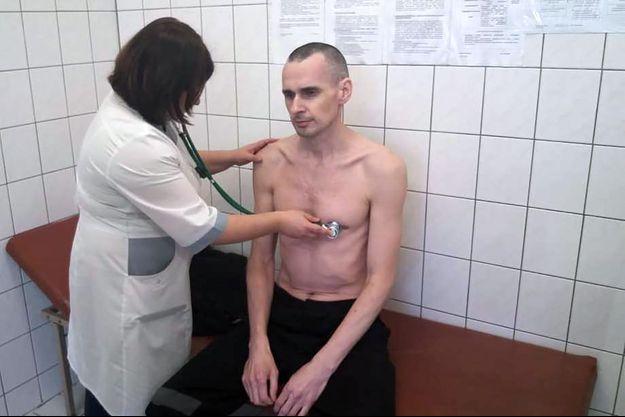 Oleg Sentsov a perdu vingt kilos.