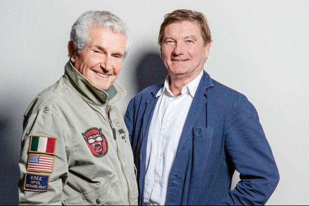 Claude Lelouch et Eric Neuhoff