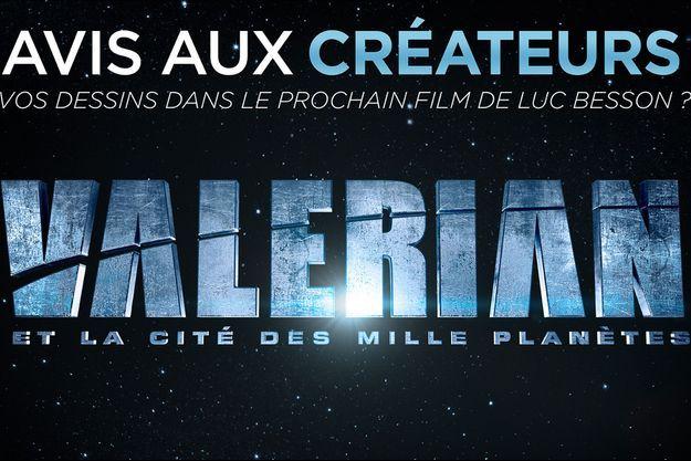 """EuropaCorp lance un concours mondial de dessins de costumes pour le prochain film de Luc Besson, """"Valerian"""""""