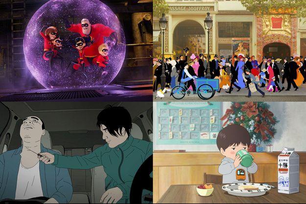 """""""Les Indestructibles 2"""", """"Dilili à Paris"""", """"Have A Nice Day"""" et """"Mirai, ma petite soeur"""""""