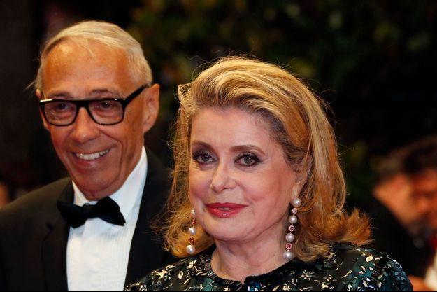 André Téchiné et Catherine Deneuve en 2014.
