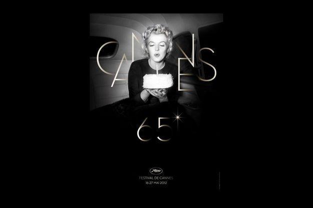 L'affiche du Festival de Cannes 2012.
