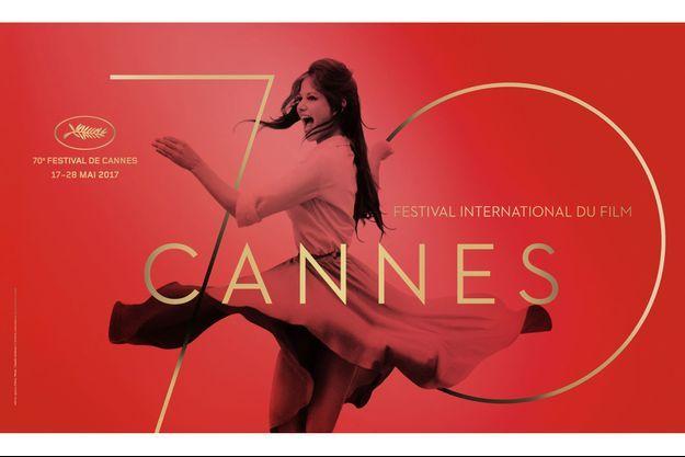 L'affiche du 70e Festival de Cannes.