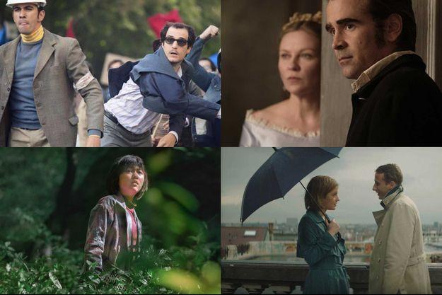 Quatre films que l'on espère à l'affiche du 70e Festival de Cannes : «Redoutable», «Les Proies», «Okja» et «Le Fidèle»