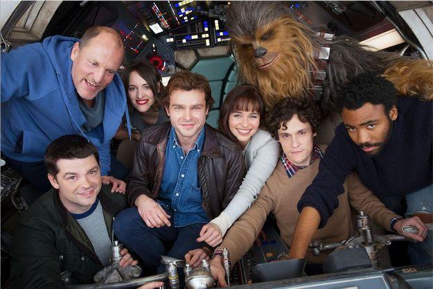 La première image du tournage du spin-off consacré à Han Solo.