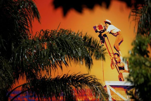 L'affiche du 72e Festival de Cannes et des palmiers...