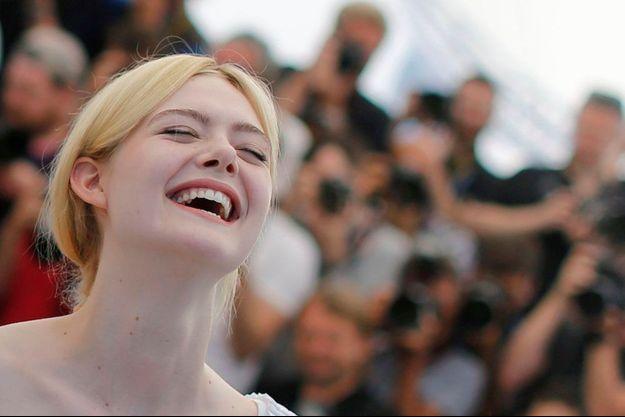 L'actrice américaine Elle Fanning lors du Festival de Cannes 2017.
