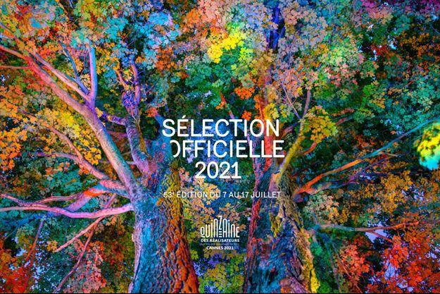 La magnifique affiche de la Quinzaine des réalisateurs 2021.