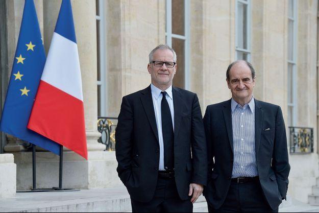 Thierry Frémaux et Pierre Lescure.