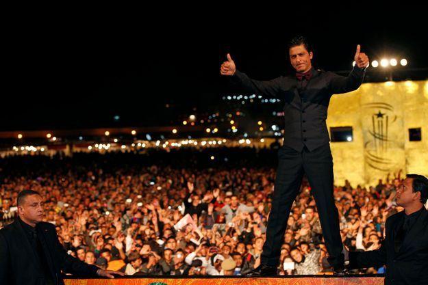 L'an passé, la star indienne Shahrukh Khan avait enflammé le Festival de Marrakech.