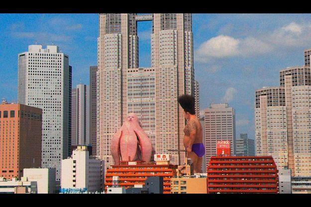 """""""Big Man Japan"""", un hallucinant bijou du japonais Hitoshi Matsumoto présenté pendant le festival."""