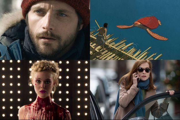 """""""Dans les forêts de Sibérie"""", """"La Tortue rouge"""", """"The Neon Demon"""" et """"Elle"""""""