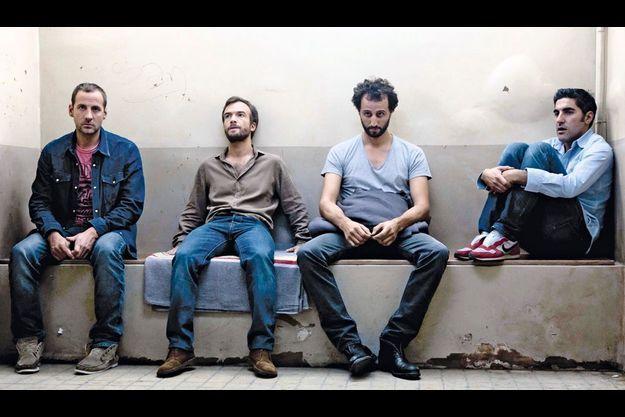 Fred Testot, Jonathan Lambert, Arié Elmaleh, Ary Abittan réunis dans la comédie.