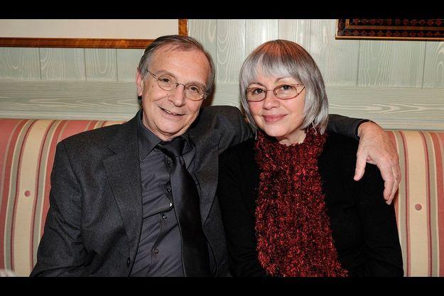 Gérard Rinaldi et son épouse, Ginette, le soir de la Saint Valentin, en 2009.