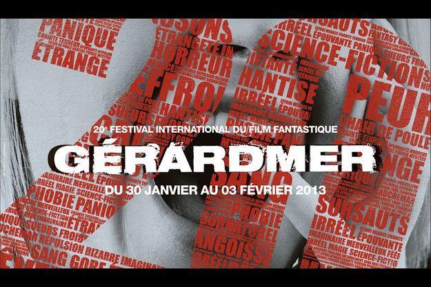 Extrait de l'affiche du Festival International du Film Fantastique de Gérardmer.