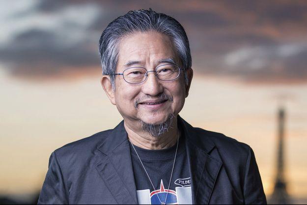 """Go Nagai, le créateur de """"Goldorak""""."""