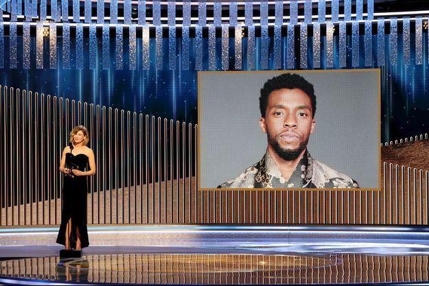"Chadwick Boseman a été récompensé pour sa prestation dans ""Ma Rainey's Black Bottom""."