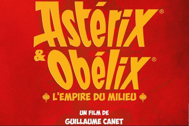 """Première affiche pour """"Astérix et Obélix : l'Empire du Milieu"""""""