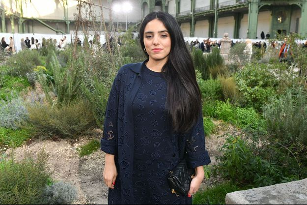 Hafsia Herzi le 21 janvier 2020.