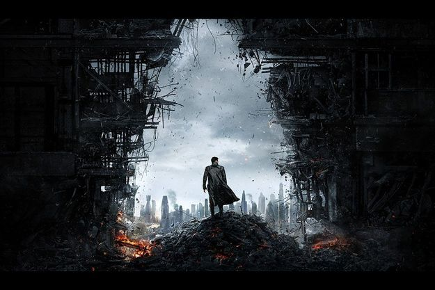 "L'affiche de ""Star Trek Into Darkness"""