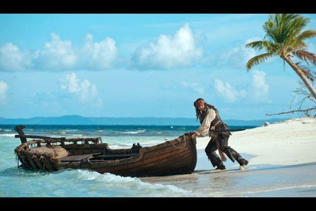 Le public nord-américain a boudé l'exploitation en 3D des dernières aventures de Jack Sparrow.