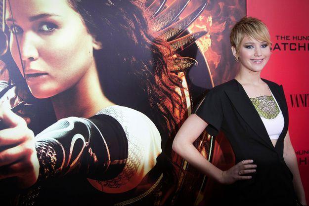 Jennifer Lawrence, radieuse lors de la première du film à New York.