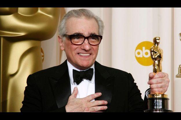 """Martin Scorsese a reçu l'Oscar du meilleur réalisateur pour """"Les Infiltrés""""."""