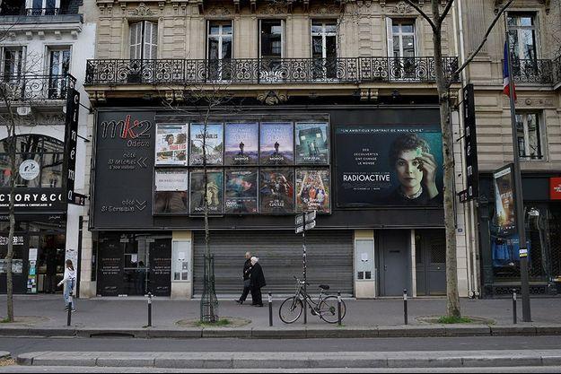 Les salles de cinéma sont encore fermées en France.