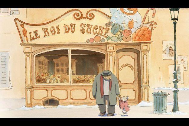 """Une photo d'""""Ernest et Célestine""""."""