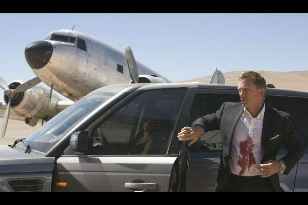 """Daniel Craig dans """"Quantum of Solace""""."""