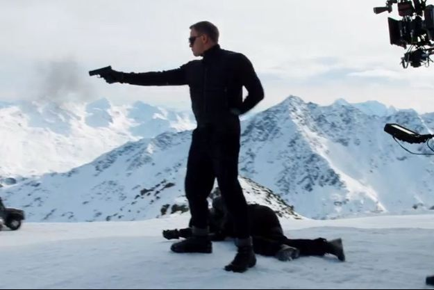 """James Bond passe à l'action sur le tournage de """"SPECTRE"""""""
