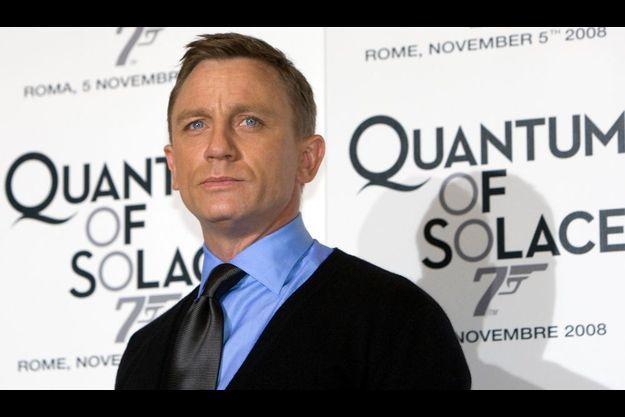 Daniel Craig, James Bond pour la troisième fois.