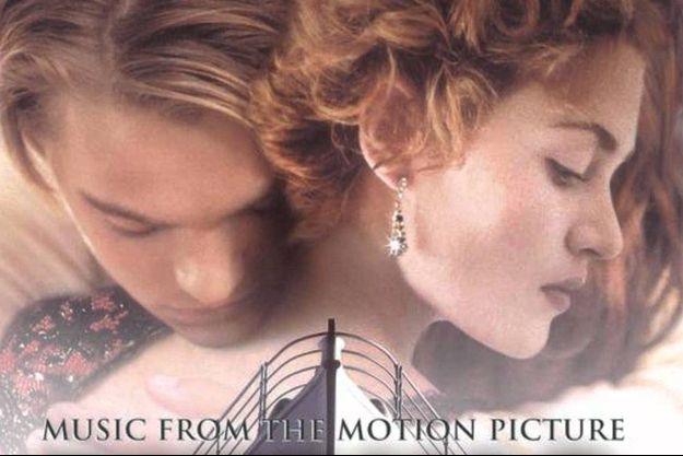 """La pochette de la bande-originale de """"Titanic""""."""