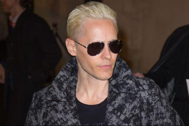 Jared Leto photographié à Paris en mars dernier.