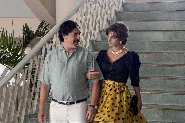 Escobar, alias Javier Bardem avec son épouse à la ville comme à l'écran, Penelope Cruz.