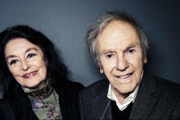 Jean-Louis Trintignant et Anouk Aimée.