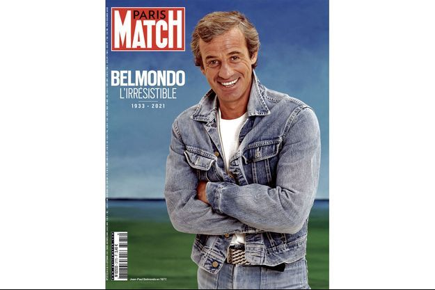 Jean-Paul Belmondo en 1972.