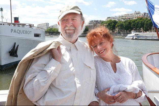 Jean-Pierre Marielle et son épouse Agathe Natanson