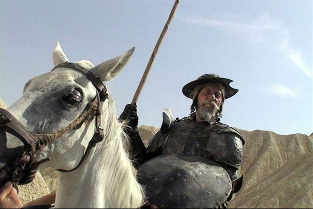 """Jean Rochefort dans """"Lost in La Mancha"""""""