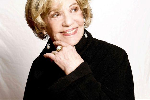 Jeanne Moreau en 2009.