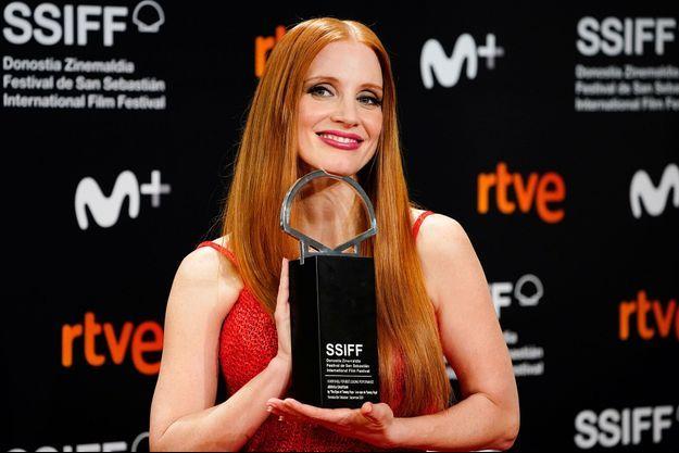 Jessica Chastain a été récompensée d'un prix d'interprétation