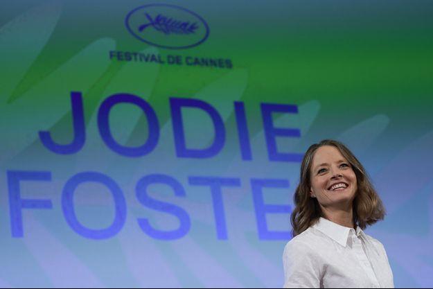 Jodie Foster lors de sa rencontre avec le public, le 7 juillet 2021.