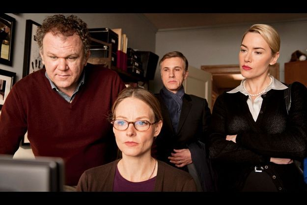 John C. Reilly, Jodie Foster, Christoph Waltz et Kate Winslet.