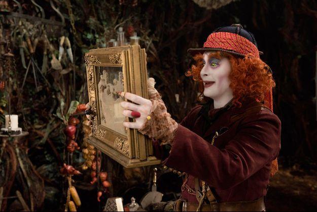 """Johnny Depp dans """"Alice de l'autre côté du miroir"""""""