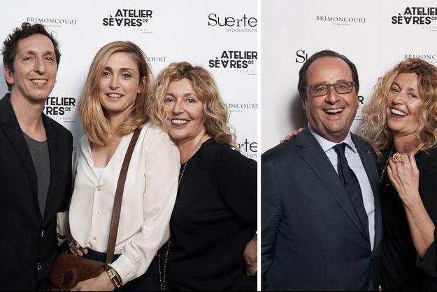 François Hollande et Stéphanie Murat