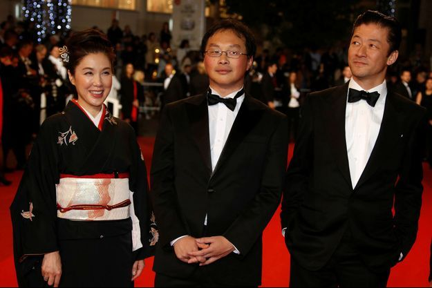Mariko Tsutsui, Koji Fukada et Tadanobu Asano