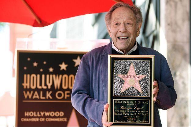 George Segal avait son étoile sur Hollywood Boulevard.