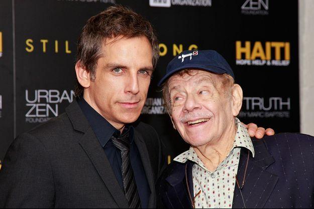 Ben et Jerry Stiller en 2011
