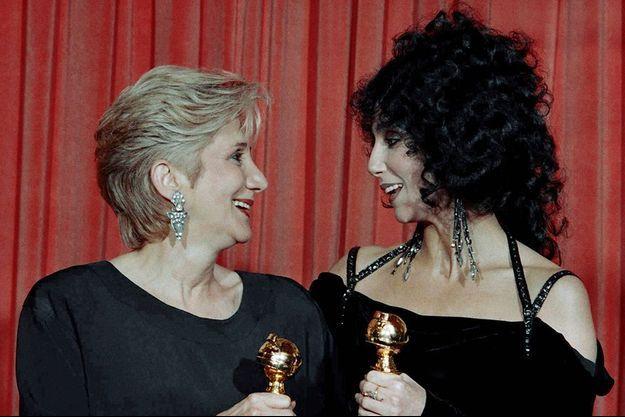 """Olympia Dukakis avait donné la réplique à Cher dans """"Eclair de Lune""""."""